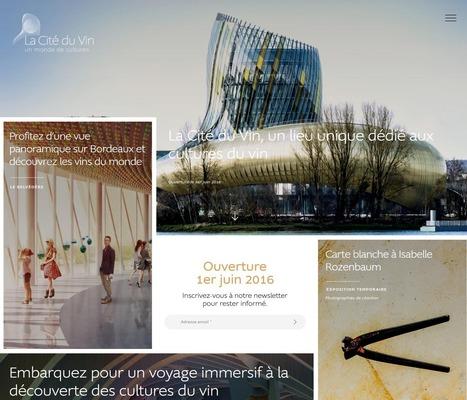 [INAUGURATION] Compagnon de visite, dispositifs immersifs et interactifs, espace web personnel, la Cité du Vin décuple son expérience de visite grâce au numérique | {CORRESPONDANCES DIGITALES] : pour les projets culturels et numériques | Scoop.it