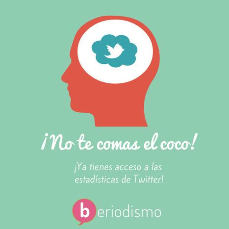 Las nuevas estadísticas de Twitter | beriodismo: el blog de @beagonpoz | redes sociales | Scoop.it
