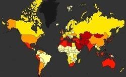 Une carte mondiale du stress hydrique | Vivre Nature | Scoop.it
