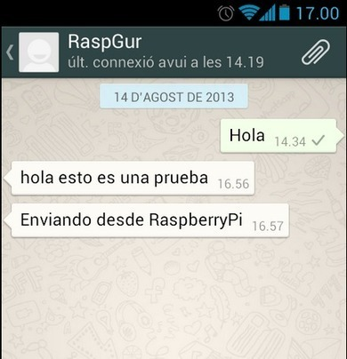 Raspberry Pi: Notificación de la temperatura de la CPU por ... | InternetdelasCosas | Scoop.it