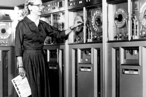 Grace Hopper: Top 10 facts about computer scientist honoured by Google Doodle | K&I Group BIS | Scoop.it