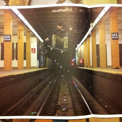 Viral Photo of a Skateboarder Jumping NYC Subway Tracks - My Modern Metropolis | Le It e Amo ✪ | Scoop.it