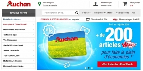 Auchan.fr lance le service 'retrait encombrant' | Information documentation, community manager and co | Scoop.it