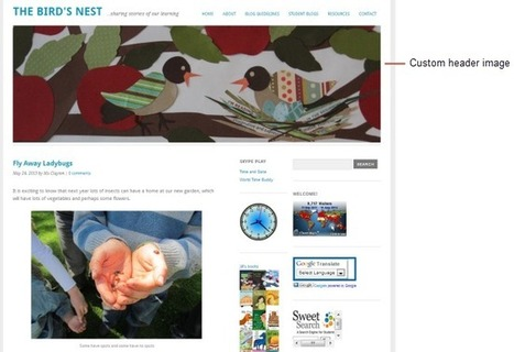 Step 1: Set up your class blog | Edublogs Teacher Challenges | Digital Literacies | Scoop.it