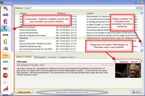 Catch-up TV Downloaders - Actus, tutos et annuaires des meilleures ressources gratuites du Web | Cura | Scoop.it