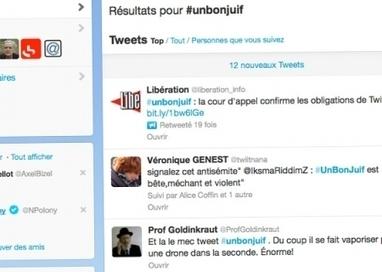 Twitter débouté dans l'affaire du hashtag #unbonjuif | Les médias face à leur destin | Scoop.it
