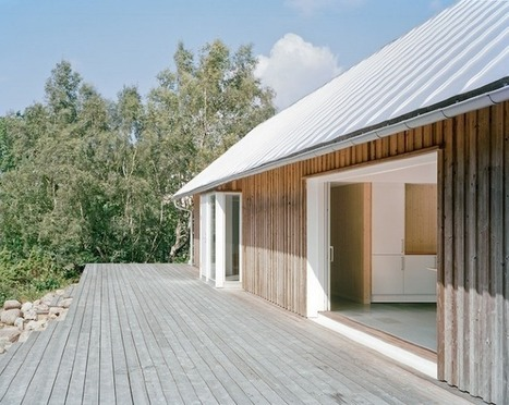 Living Within Nature: A Contemporary Farm House in Sweden | sustainable architecture | Scoop.it