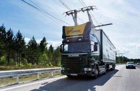 En Suède, les camions roulent sur des autoroutes électriques | Ressources pour la Technologie au College | Scoop.it