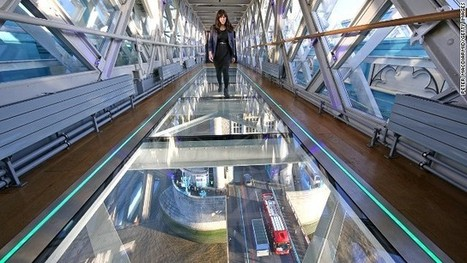 Dropped beer bottle shatters glass walkway at London's Tower Bridge | Commercial Real Estate & Retail News | Scoop.it