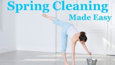 Water Cooler Wellness: 5 Simple Spring Cleaning Hacks - What's Up, USANA?   Healthy Truckers   Scoop.it
