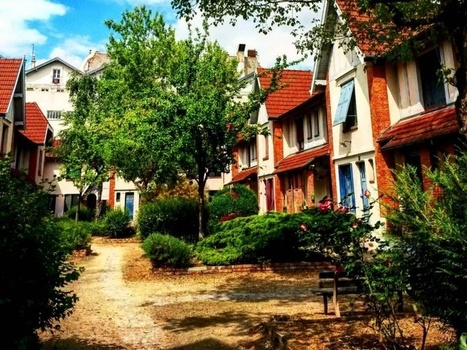 Verdure et maisonnettes : Paris secret en 15 images Instagram | Remue-méninges FLE | Scoop.it