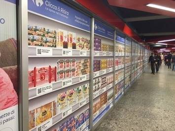 In Milan, shopping can also be ordered in the metro | Travel Retail | Scoop.it