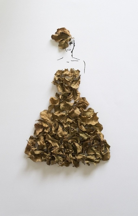 Fashion in Leaves: Illustrations by Tang Chiew Ling   MUSÉO, ARTS ET SPECTACLES   Scoop.it