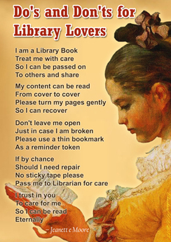Do's and Don'ts for Library Lovers – Library Poster | Library Gyaan | Information Science | Scoop.it