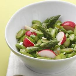 Asparagus & Radish Salad | Healthy Eating for a Healthy Life | Scoop.it