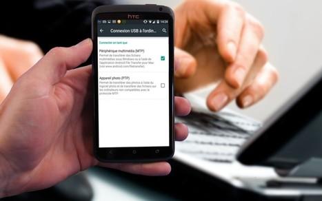 [Tutoriel] Comment brancher son appareil Android à son PC pour transférer des fichiers | Applications éducatives & tablettes tactiles | Scoop.it