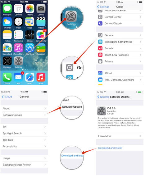 How to install iOS 8.1 on your iPhone and iPad — Even if you're low on storage! | iPads and Other Tablets in Education | Scoop.it