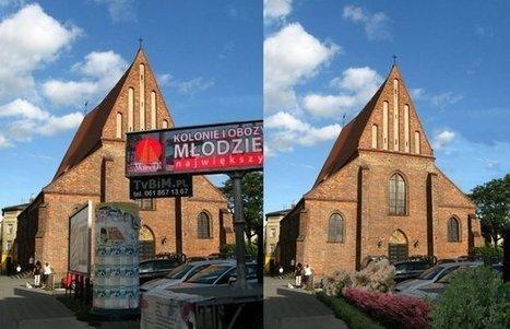 Znikające reklamy w Poznaniu. Cud? | Fotografia-Grafika | Scoop.it