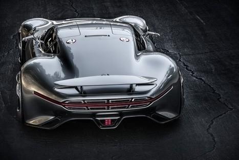 Mercedes-Benz Design A Concept Sports Car For Gran Turismo 6 | Future Car | Scoop.it