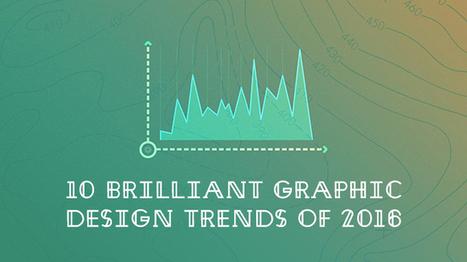[#Trends] Les 10 tendances graphiques pour 2016 | Graphic design | Scoop.it