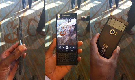 Le BlackBerry Priv continue de se faire photographier | Addicts à Blackberry 10 | Scoop.it