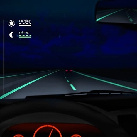 Glow-in-the-dark roads make debut in Netherlands (Wired UK) | Post-Sapiens, les êtres technologiques | Scoop.it