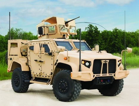 Meet the badass Joint Light Tactical Vehicle (JLTV) - set to replace the Humvee currently used by U.S. military | Brian's Science and Technology | Scoop.it