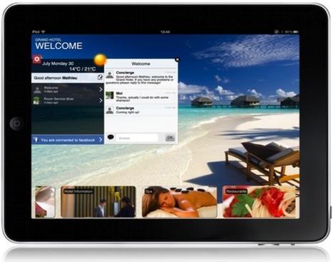 Tourisme/Hôtellerie - LoungeUp, le service client sur mobile   E-business and M-business   Scoop.it