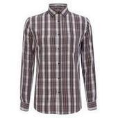 Mens Burgundy Mid Check Shirt, Burgundy - Just Be Fancy | Online Clothes for Men | Scoop.it