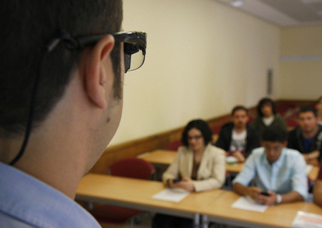 Unas gafas inteligentes permiten a los profesores ver las dudas de sus alumnos | Geolocalización y Realidad Aumentada en educación | Scoop.it