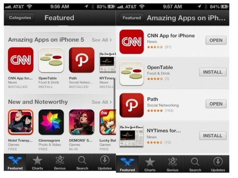 Just Hitting The App Store: Amazing Apps Optimized For Your New iPhone 5 | Winning The Internet | Scoop.it