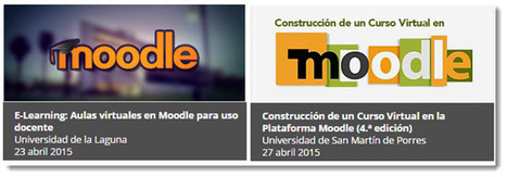 4 cursos online y gratuitos en español para educadores | Moodle and Web 2.0 | Scoop.it