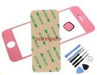 Pink iPhone 5 Outer Screen Glass Lens /Digitizer Cover+Home Button+Tape+Tools | Samsung LCD & Digitizer | Scoop.it