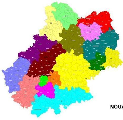 Les 17 nouveaux cantons du Lot | Autour de Carennac et Magnagues | Scoop.it