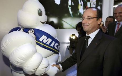 Clermont-Ferrand : François Hollande en visite vendredi chez Michelin - Le Parisien | Michelin | Scoop.it