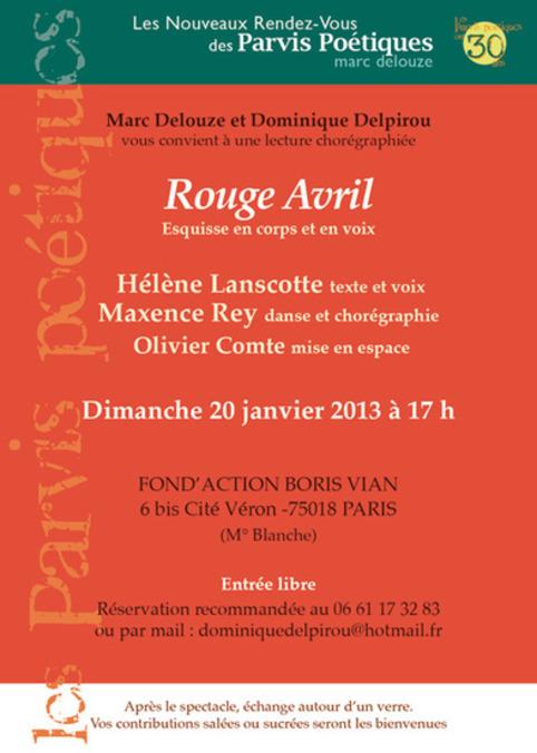 Les Parvis Poétiques / Marc Delouze: Prochain rendez-vous | Poezibao | Scoop.it