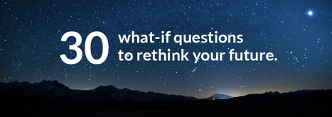 30 What-if questions for an Innovation Mindset | Creativity & Innovation  for success | Scoop.it