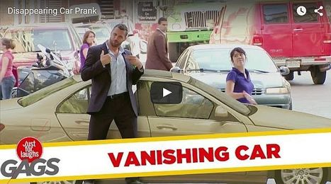 Disappearing Car Prank - All Site Café | cool sites | fun sites | entertainment | play computer games | Scoop.it