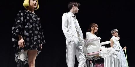 Les défilés s'ouvrent au handicap à la Tokyo Fashion week - Francetv info | Couture | Scoop.it