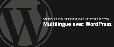 Création de sites multilingue avec WordPress et WPML | DragiBuzz | Scoop.it
