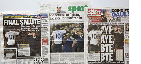 Daily Mail edits out Tottenham Hotspur coach from sports picture | Photography for Journalists | Scoop.it