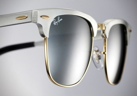 Ray-Ban Clubmaster Aluminium | Luxury News - American Luxury Magazine | design - Art | Scoop.it
