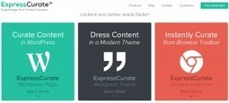Express Curate. La curation avec WordPress | Curation de contenus | Scoop.it