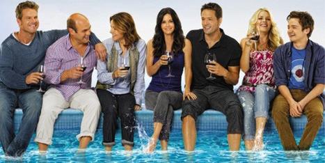 Pas d'eau courante à Cougar Town mais des verres de vin remplis à ras bord dans la série TV sur ABC | Vin, blogs, réseaux sociaux, partage, communauté Vinocamp France | Scoop.it