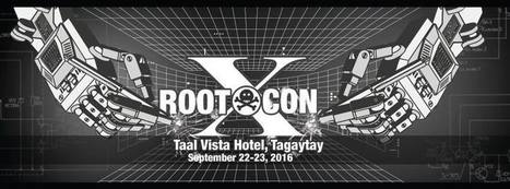 RootCON 10 – Premier Hacking Conference in the Philippines [Updates] - Pir8g33k | Pir8g33k | Scoop.it