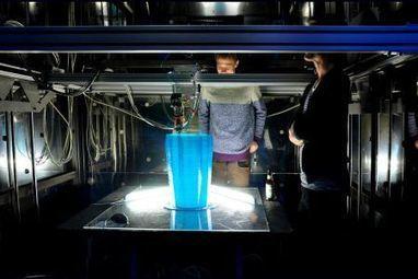 DUS Architects : une imprimante 3D de 6 mètres de hauteur pour ... | création 3d | Scoop.it