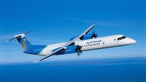 Air Tanzania reçoit deux avions Q400 de Bombardier @Investorseurope#Mauritius stock brokers    | Investors Europe Mauritius | Scoop.it