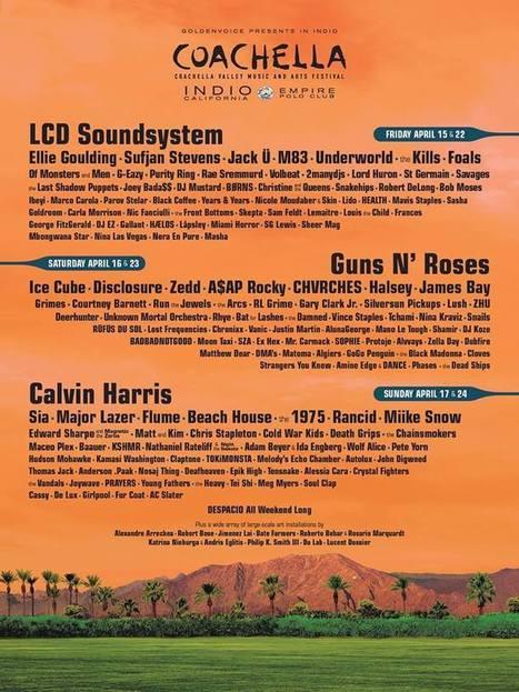 Coachella announces 2016 lineup   DJing   Scoop.it