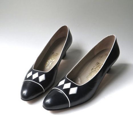 vintage Leather Pumps | whats been spotted on etsy today? | Scoop.it