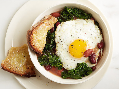 Bean, Kale and Egg Stew | 4-Hour Body Bean Cookbook | Scoop.it